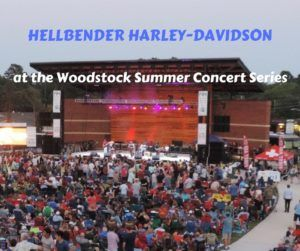 Hellbender Harley-Davidson® at the Woodstock Summer Concert Series